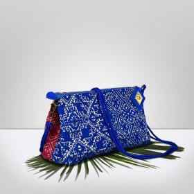 BAHIA Fuchsia & Blue