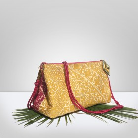 BAHIA Fuchsia & Ochre