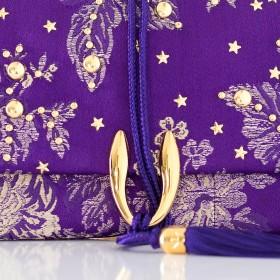 SALMA STUDS Purple